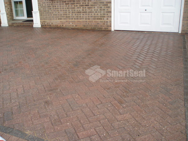 Sealed block paved drive
